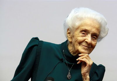 Il Premio Nobel Rita Levi-Montalcini